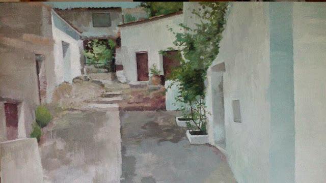 Pintura de Ana Hernández Morote, premio concurso de Fuenteheridos 2014