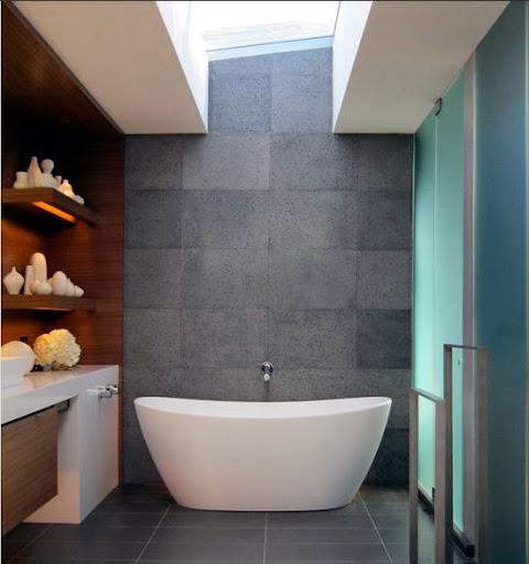 Kamar mandi batu alam