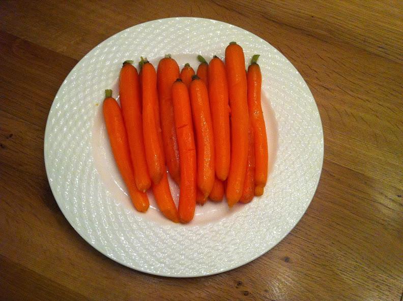 Geglaceerde wortels 1