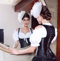Black Waistcoat Corset 3