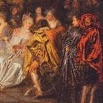 Les plaisirs du bal - Watteau