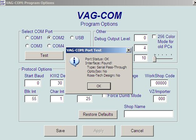 VAGCOM/VCDS newbie help please [Archive] - VW T4 Forum - VW