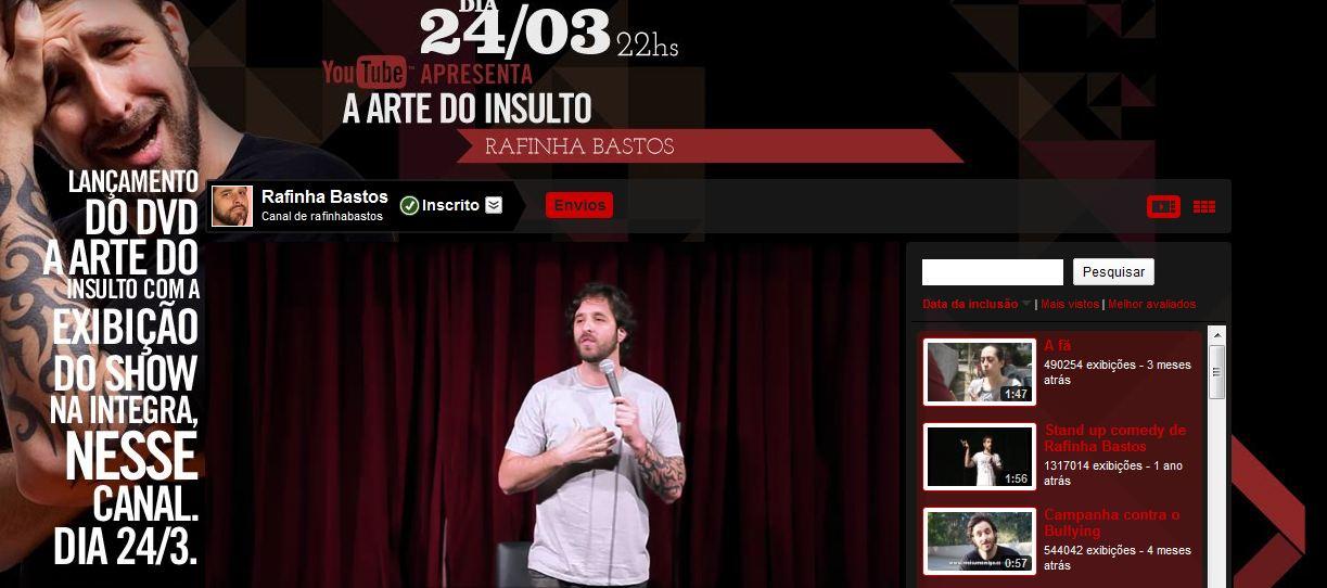 Rafinha Bastos DVD Arte do Insulto