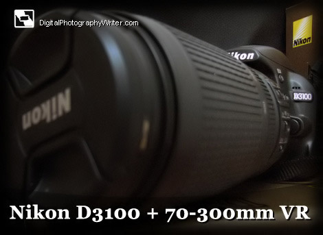 nikon d31000. Nikon D3100 and Nikkor