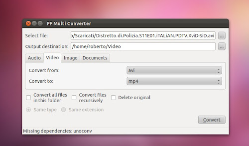 FF Multi Converter su Ubuntu