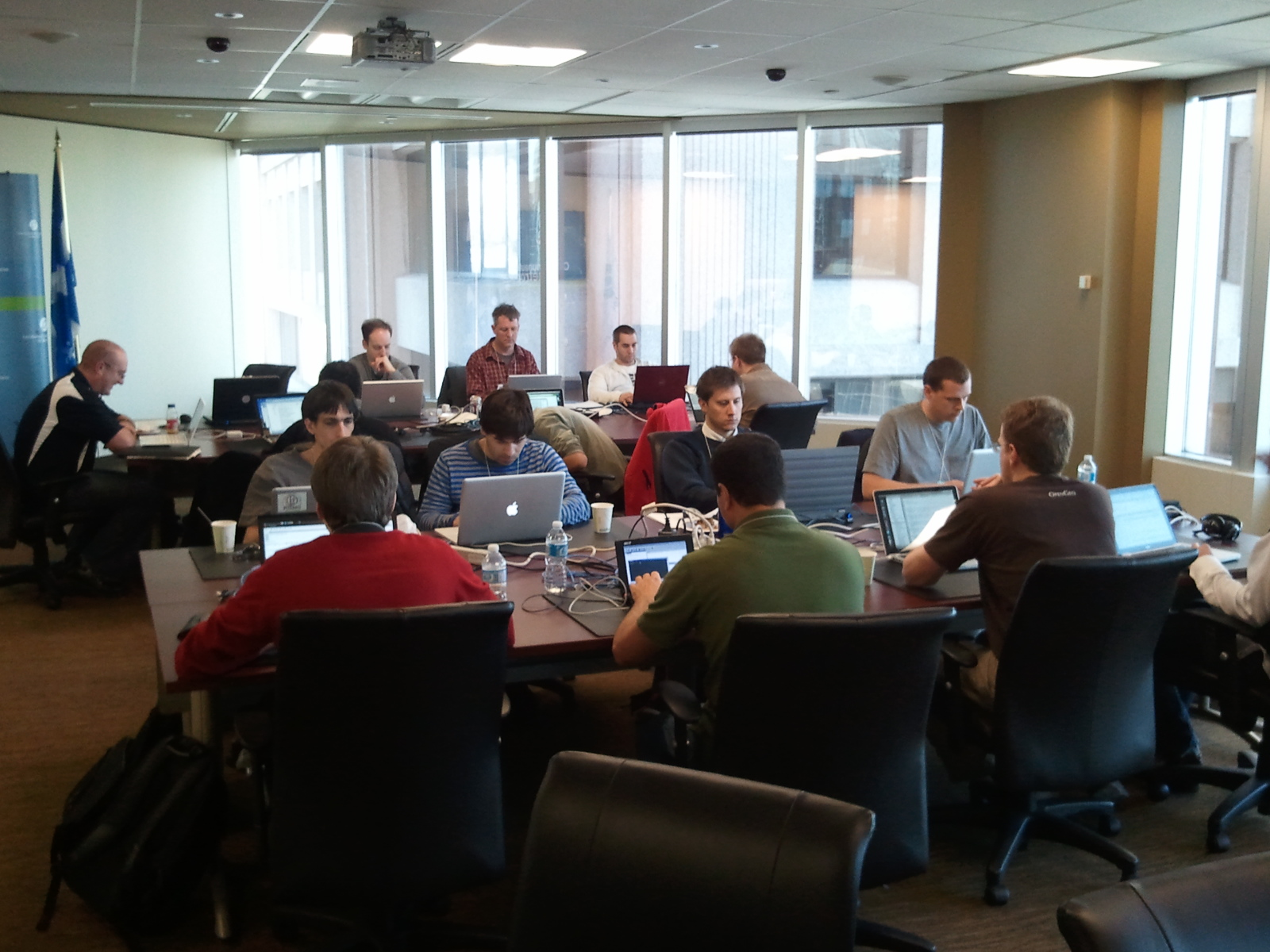 Geo Gears, Nuts & Bolts: News from the Montreal OSGeo Code