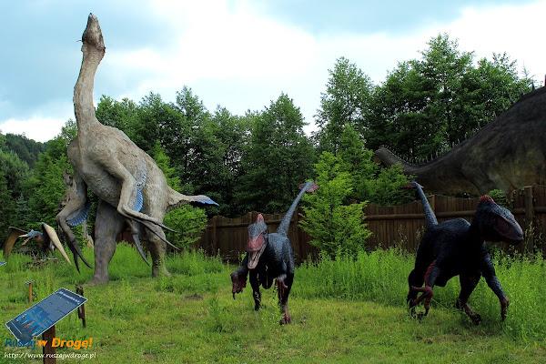 bałtów jura park  - dromeozaury i teirizinozauroid