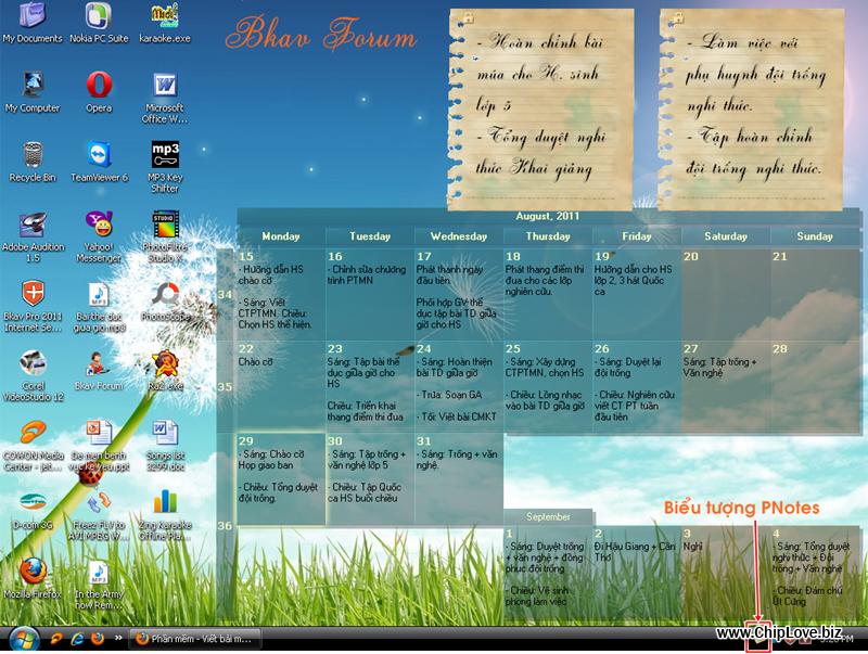 PNotes 3.5 Free - Phần mềm quản lý ghi chú chuyên nghiệp, miễn phí - Image 1
