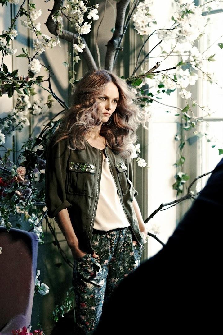 *H&M 新一季Conscious collection:牙縫美人Vanessa Paradis擔綱形象拍攝! 1
