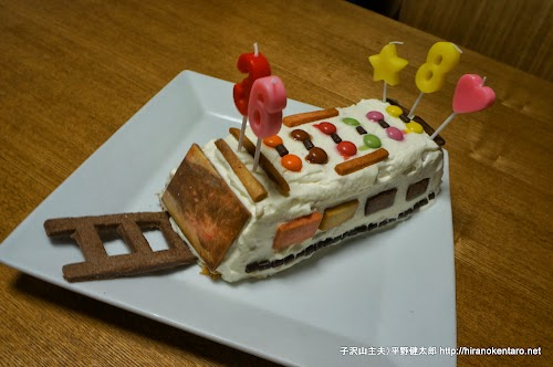 電車のケーキ