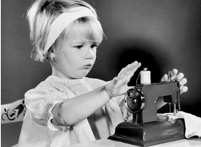 Image result for child sewing