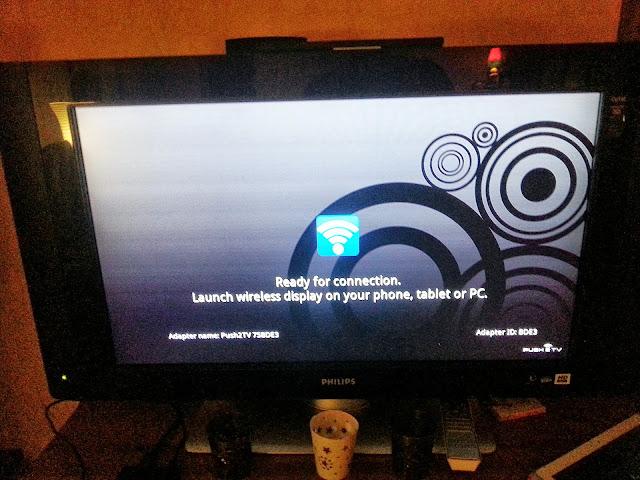 Et sur la TV