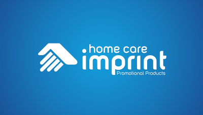 Home Care Imprint : home care promotional products business logo design