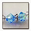 Thumbnail of Aquamarine Swarovski Bracelet © Anne Gaal of http://www.gaalcreative.com