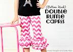 Double Ruffle Knit Pants