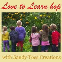 Love to Learn Blog hop Sandy Toes Creations