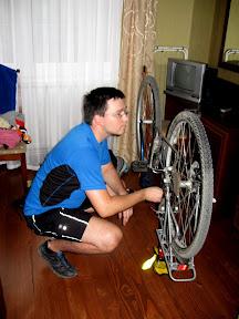 serwis rowerowy w hotelu