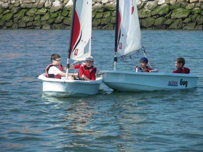 veleros con niños
