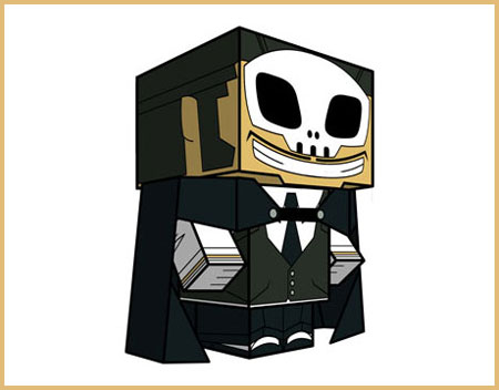 Dr Destruction Papercraft