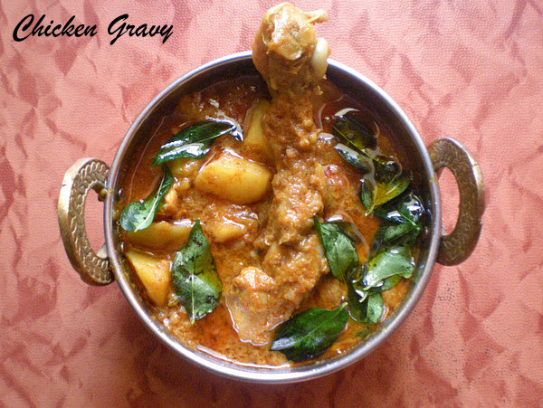 Chicken 'n' Potato Gravy  Recipe