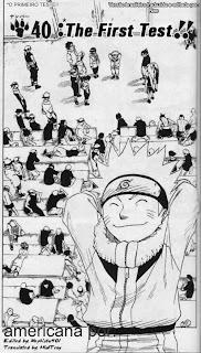 Naruto Mangá 40 – (Leitura Online)