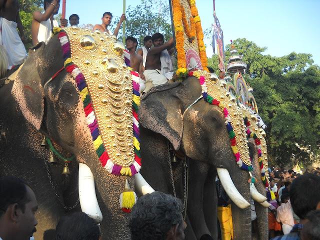 Kerala Temple Festivals 2012