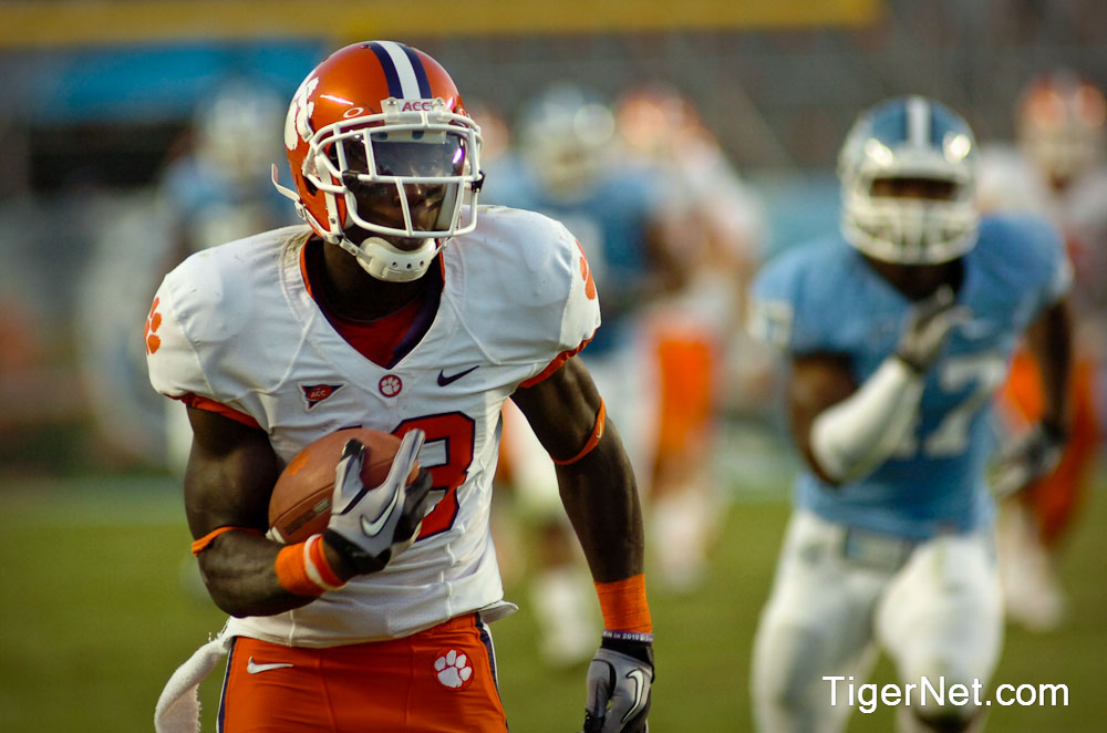 Clemson at North Carolina Photos - 2010, Football, Jaron Brown, North Carolina
