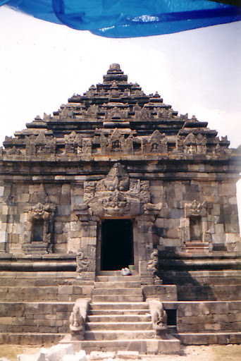 The main temple of Ijo Temple