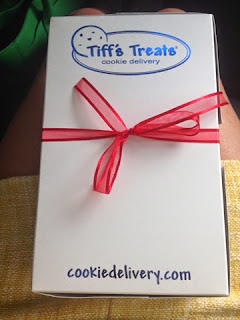 cookie delivery, gift instead of flowers