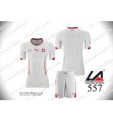 áo bóng đá đội tuyển Thụy Sĩ sân khách