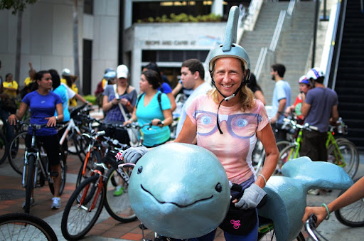 Dolphin Bike and Regina | Photo by Robby Campbell