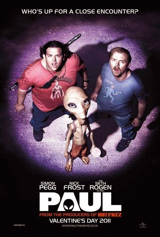 Poster Of Paul (2011) Full Movie Hindi Dubbed Free Download Watch Online At Alldownloads4u.Com