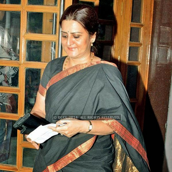 Minakshi Pawha  during the Lucknow Theatre Festival which was organised in the city from July 17.