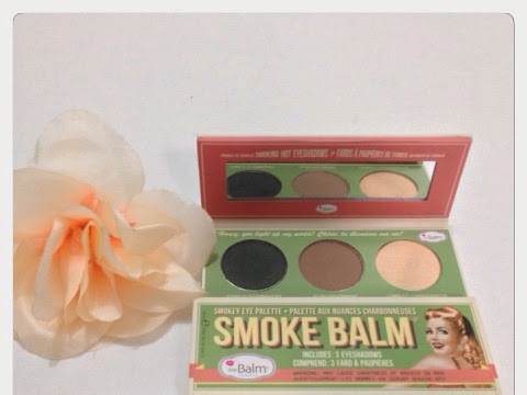 [Review] the Balm - Smoke Balm Eye Shadow Trios and Swatches