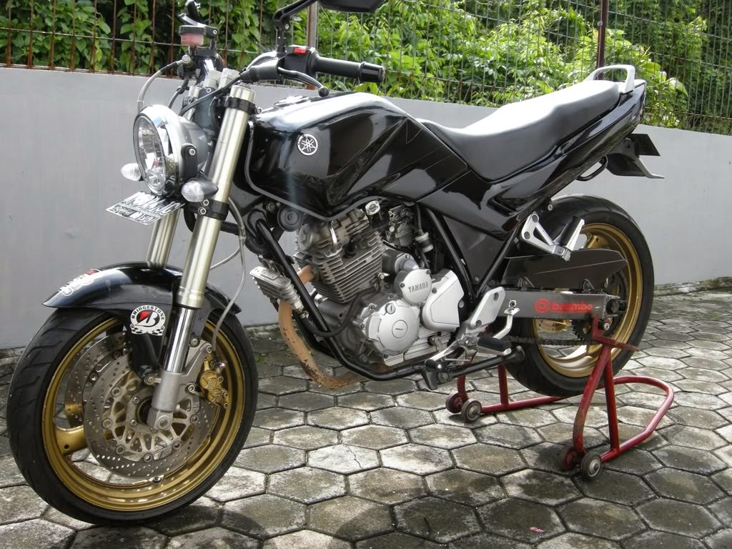 New Scorpio Z Modifikasi Street Fighter