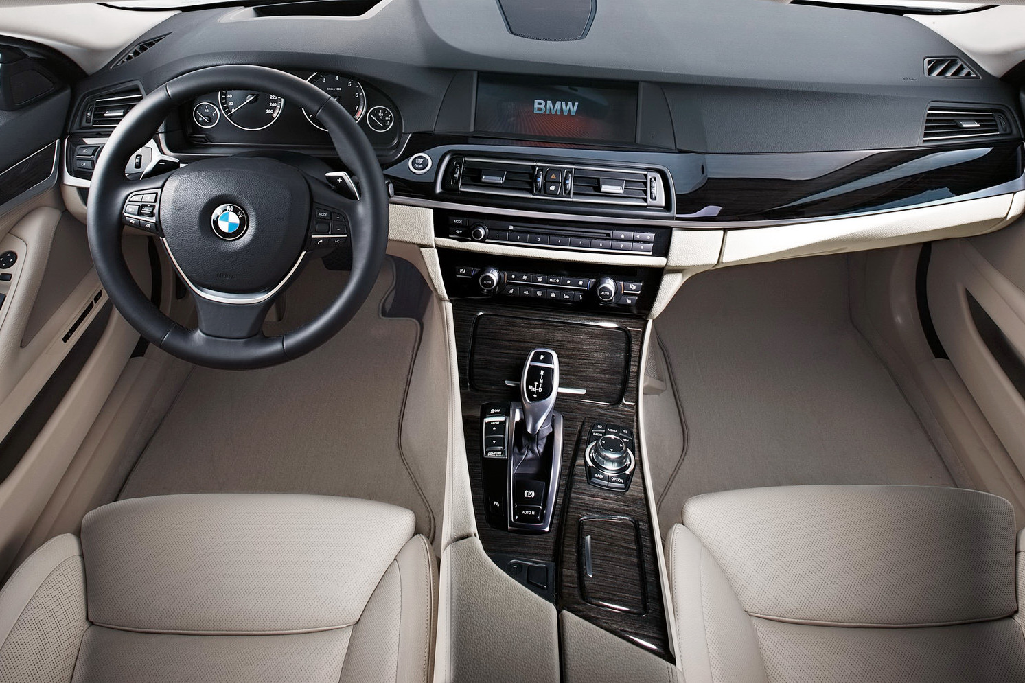 Bmw 7 Series 2011 Interior