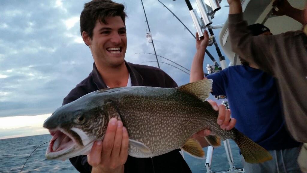 lake michigan lake trout fishing