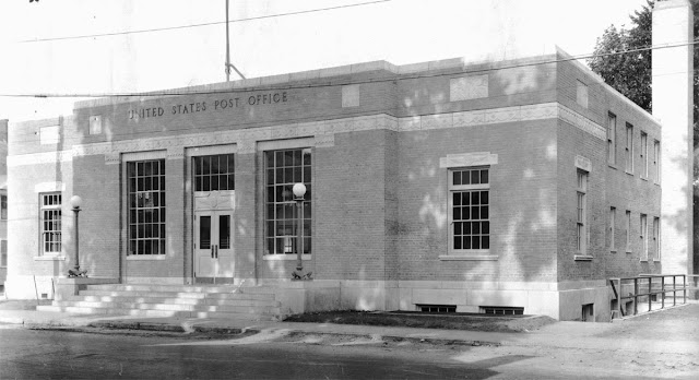 Westbrook, ME post office, 1936