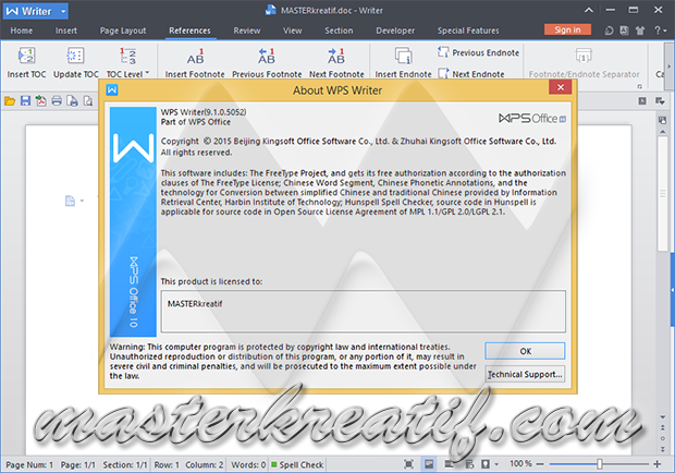 WPS Office 2015