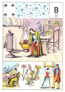 Grand jeu de Mme Lenormand : tirage 5 cartes 'évolution carrière' 06%2520tr%25C3%25A8fle%25204