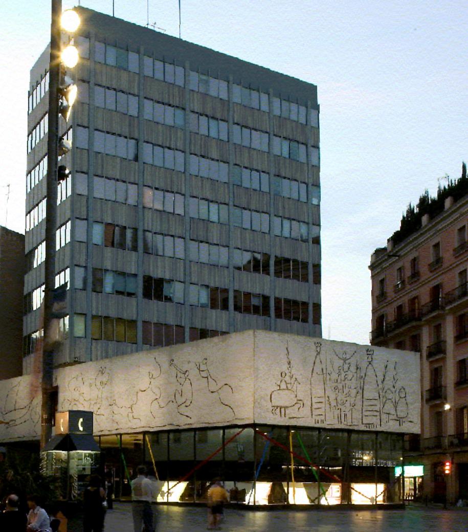 Los colegios de arquitectos en espa a garc a barba - Colegio arquitectos barcelona ...