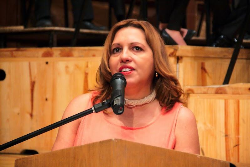 La compositora venezolana Diana Arismendi, directora ejecutiva de esta cita musical, despidió la XVII edición del festival, cuyo lema fue: el espacio del compositor contemporáneo