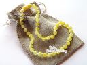 amber teething necklace (baby) :  amber teething necklace