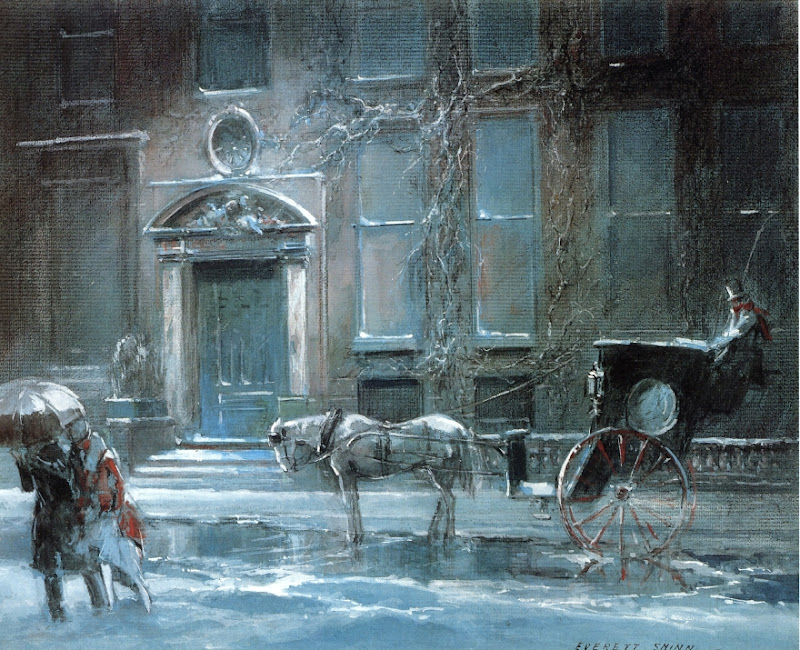 Everett Shinn - The Canfield Gambling House