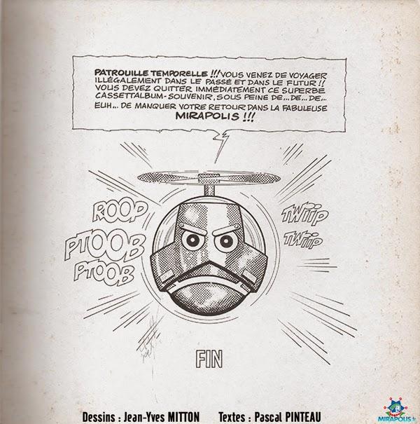 Page 13 de la BD Leonard de Vinci vendue a Mirapolis