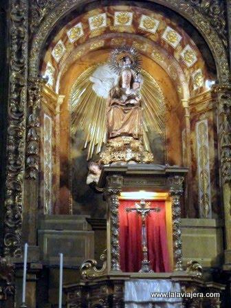 Nuestra Señora de Toloño, retablo mayor de la Iglesia de la Asunción, Labastida