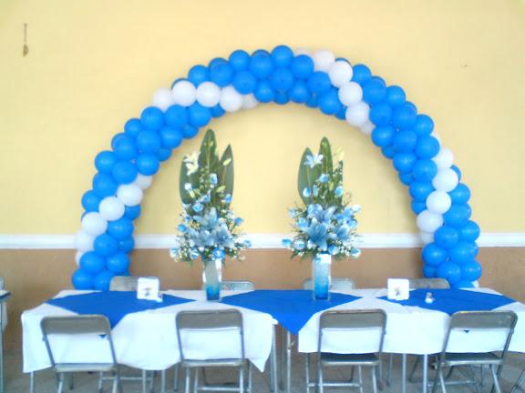 Fotos de decoraciones con globos taringa for Decoracion de licenciatura