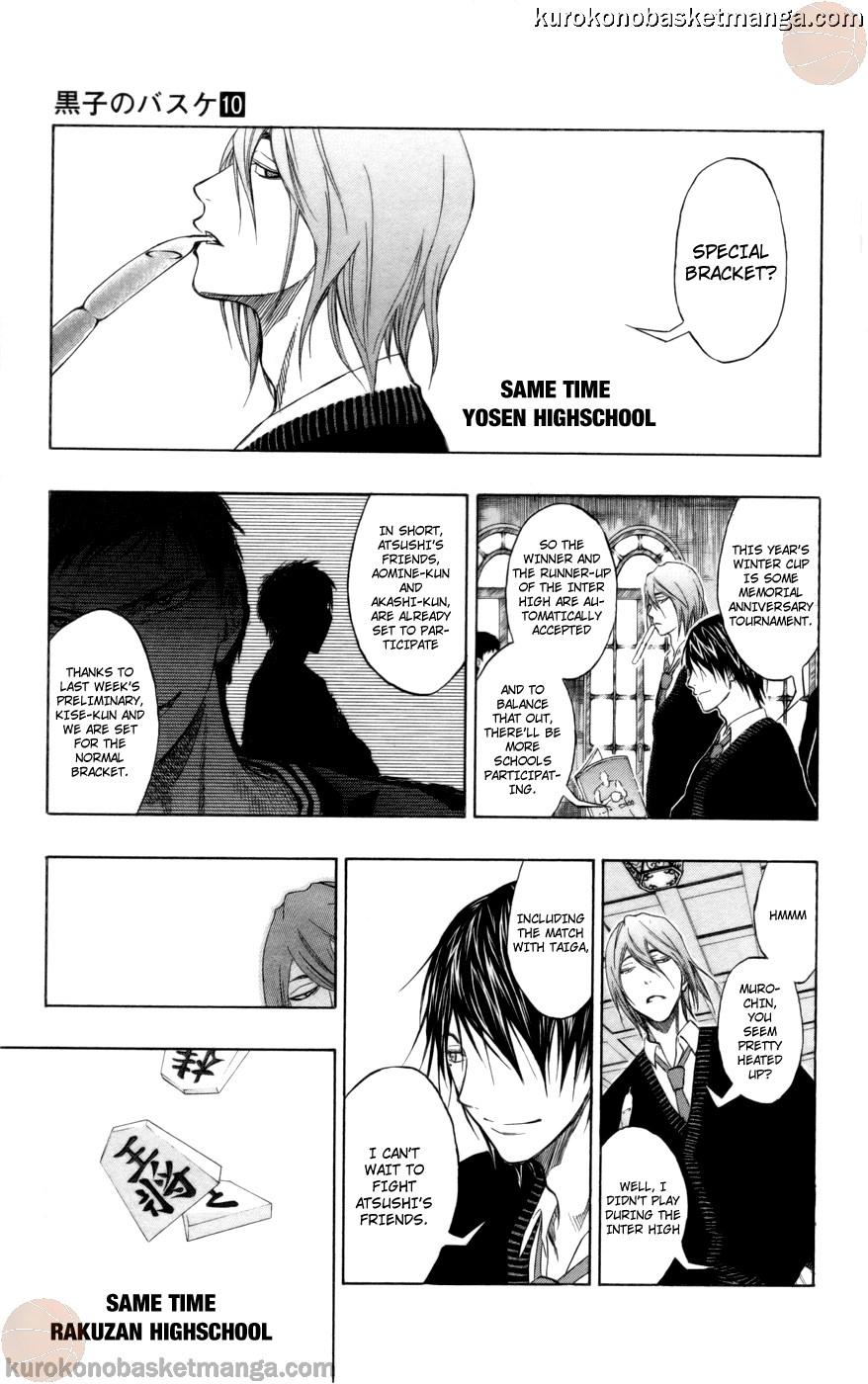 Kuroko no Basket Manga Chapter 81 - Image 15