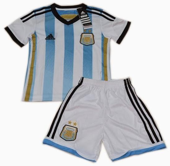 Jual Jersey Bola Anak Argentina 2014