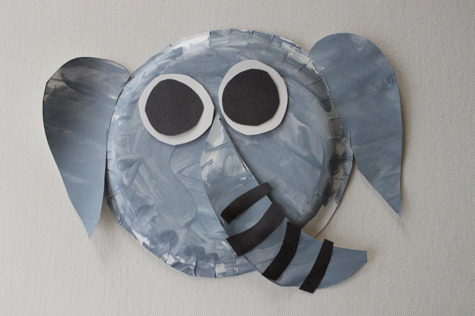 Fascinating Elephant Paper Plate Craft Contemporary - Best Image ...